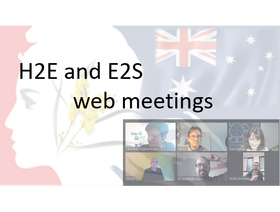 H2E Overview of the collaborative flash projects in progress